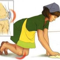 Бурсит коленного сустава симптомы и лечение с фото